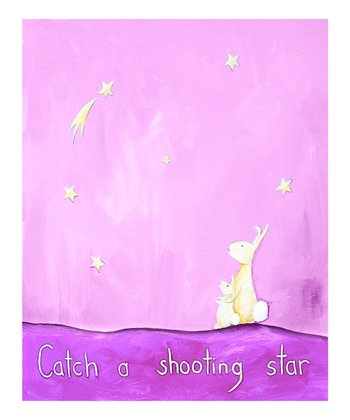 Pink 'Catch a Shooting Star' Print