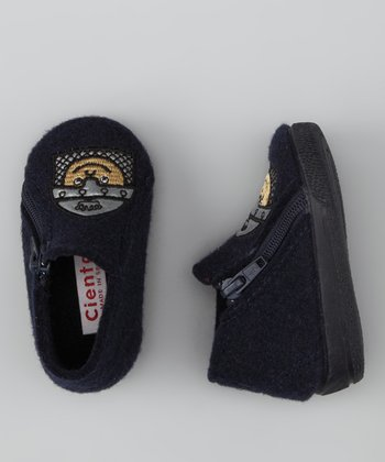 Cienta Navy Knight Slipper