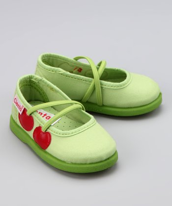 Pistachio Double Cherry Flat