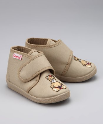Cienta Tan Bear Shoe