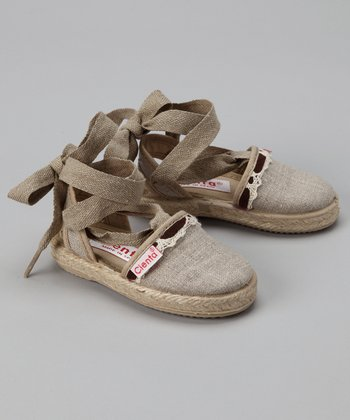 Cienta Linen Canvas Shoe