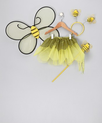 Yellow Bumblebee Tutu Set - Toddler