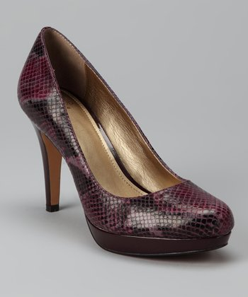 Dark Purple Pearly Pump