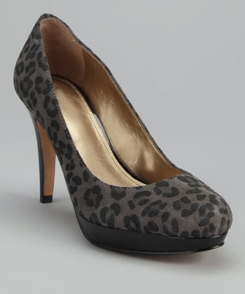 Gray Pearly Pump