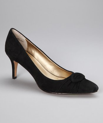 Black Suede Atlee Pump