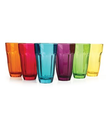 Circle Glass Overture 12-Oz. Highball Glass Set