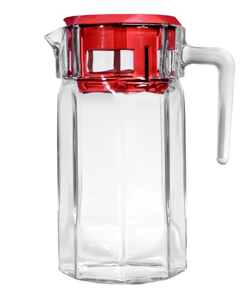 Red 50-Oz. Pitcher