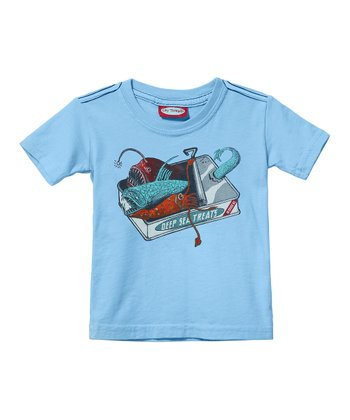Light Blue Deep Sea Creatures Tee - Infant, Toddler & Boys