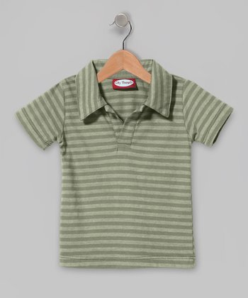 Turtle Stripe Polo - Infant, Toddler & Boys