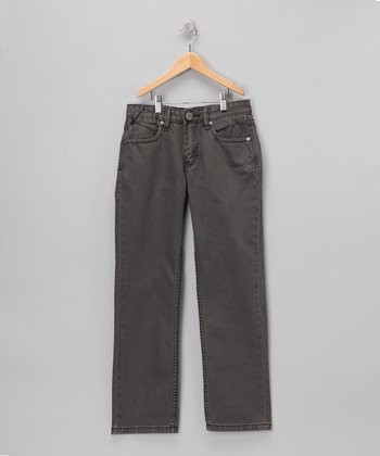 Gray Toast Jeans - Boys