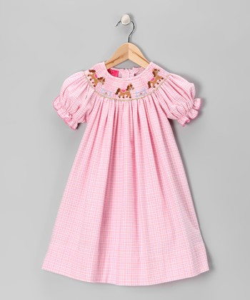 Pink Pony Bishop Dress - Infant