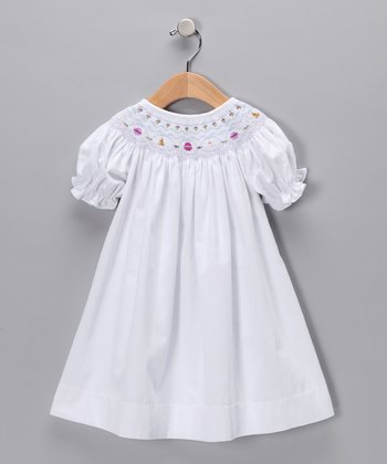 White Easter Bishop Dress - Infant & Toddler