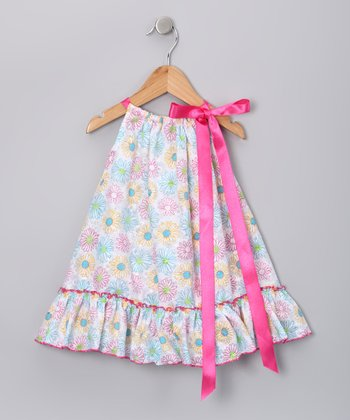 Pink Floral Melisa Dress - Infant, Toddler & Girls