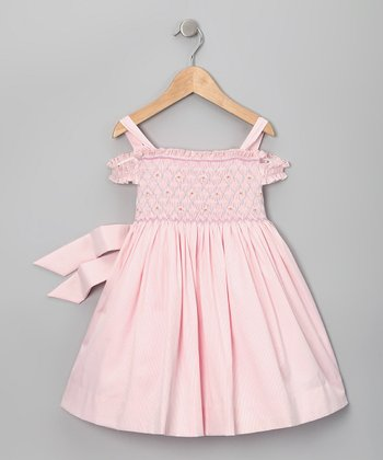 Pink Camille Smocked Dress - Infant & Toddler