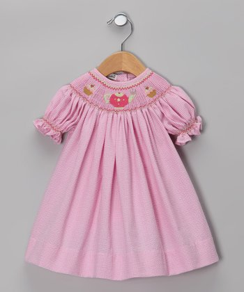 Pink Tea Party Bishop Dress - Infant & Toddler