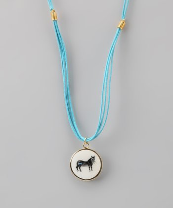 Blue Horse 'Individuality' Necklace