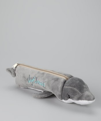 Gray 'Joyfulness' Dolphin Pencil Pal