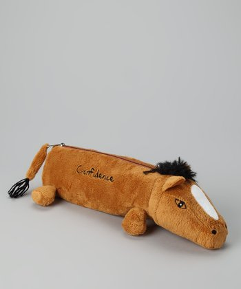 Tan 'Confidence' Horse Pencil Pal