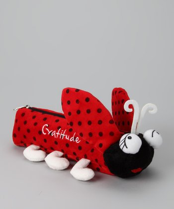 Red & Black 'Gratitude' Ladybug Pencil Pal