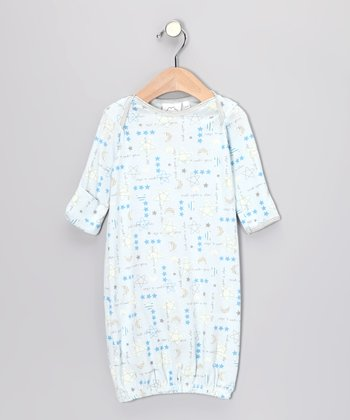 Blue 'Wish Upon a Star' Gown - Infant