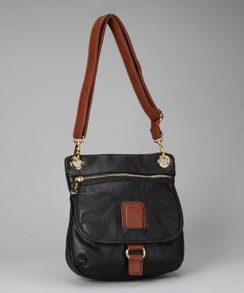 Black Small Harper Crossbody Bag