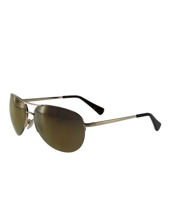 Coach Gold Sunglasses