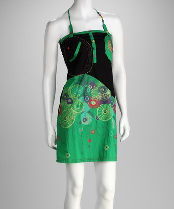Green Rasta Dress