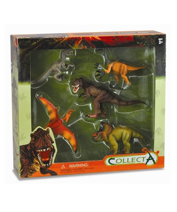 Five-Piece Prehistoric Life Window Boxed Set