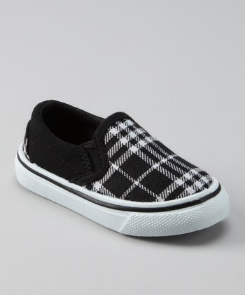 Collection'O Black & White Plaid Shoe
