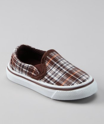 Collection'O Brown Plaid Shoe