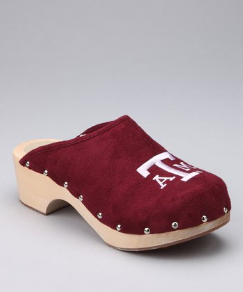 College Edition Maroon Texas A&M Clog - Women