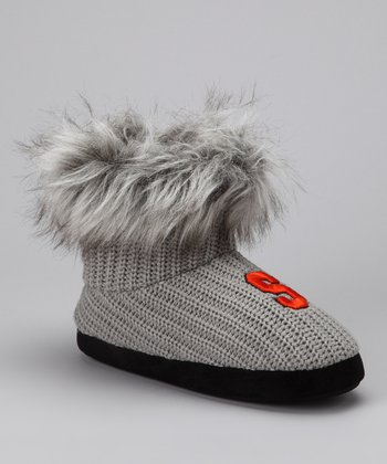 Gray Syracuse Boot - Women