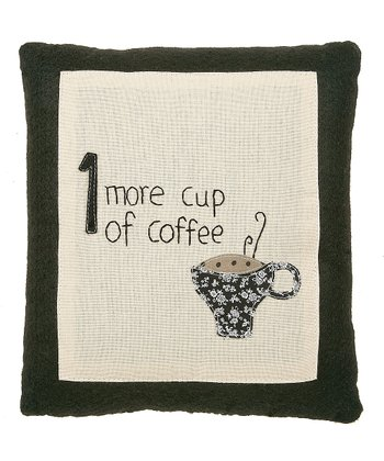 'Cup of Coffee' Pillow