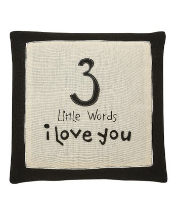 'Little Words' Pillow