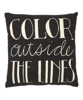 'Color Outside the Lines' Pillow