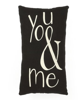 'You & Me' Pillow