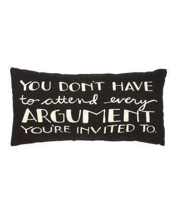 'Argument' Pillow