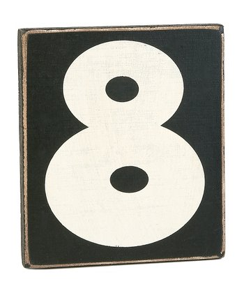 'Eight' Sign