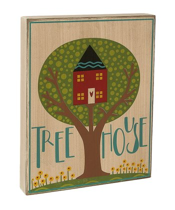'Tree House' Box Sign