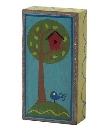 Birdie House Box Sign