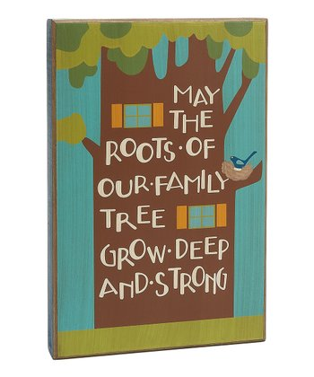 'Our Family Tree' Box Sign