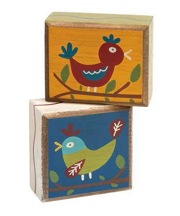 Happy Birdies Box Sign Set