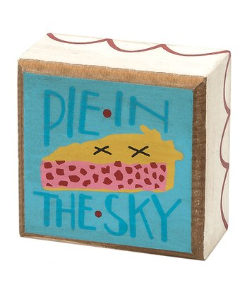 'Pie in the Sky' Box Sign