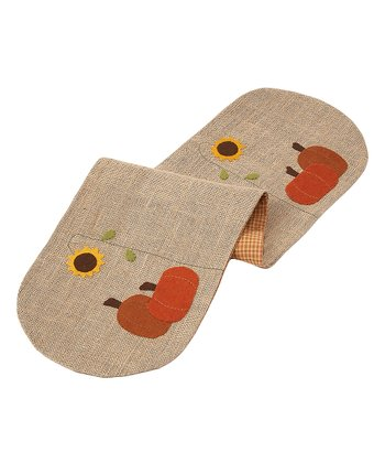 Pumpkin Garden Large Table Runner