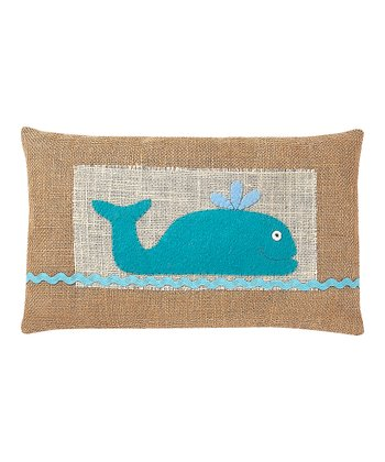 Willie the Whale Pillow