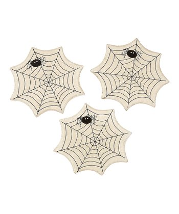 Spider Web Magnet - Set of Three