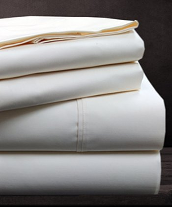 Ivory 600-Thread Sheet Set