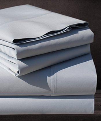 Silver Sage 600-Thread Queen Sheet Set