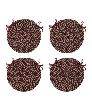 Burgundy Brook Farm Chair Pad - Set of Four