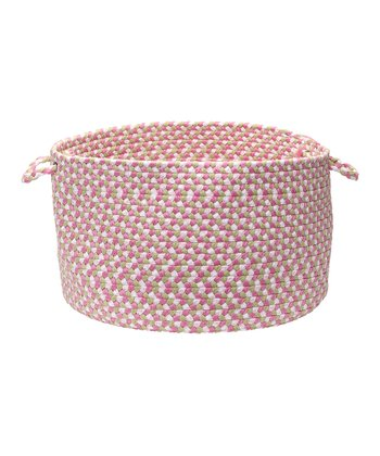 Color Burst Tea Party Pink Utility Basket